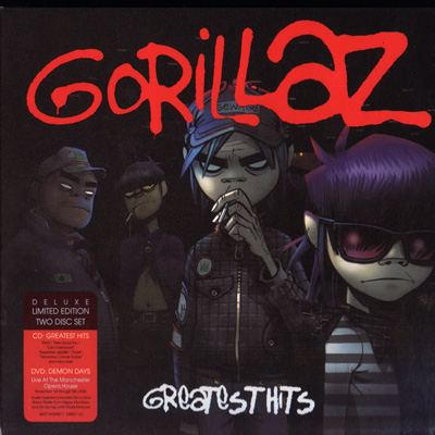 Gorillaz - Greatest Hits (2010) Limited Edition