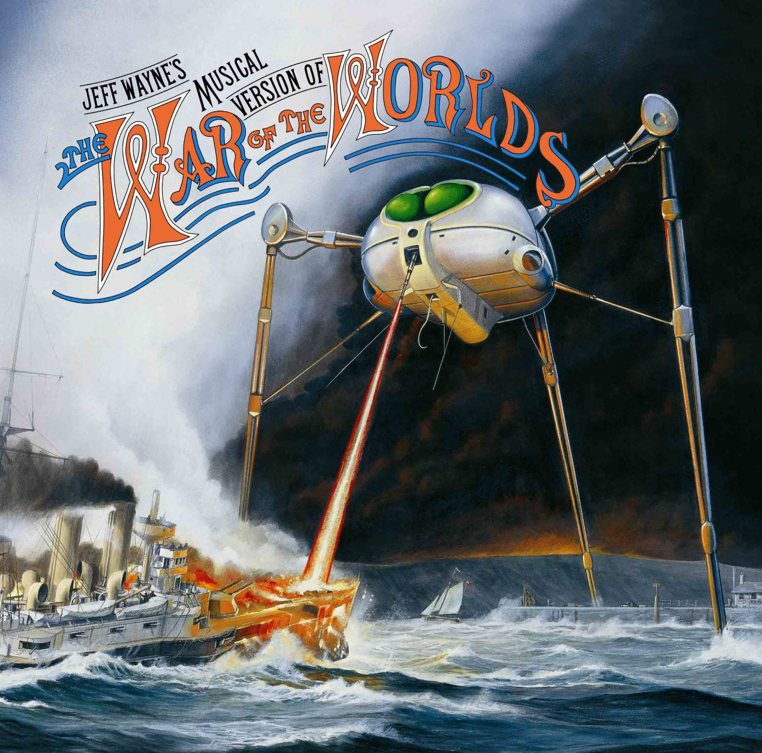 Jeff Wayne - The War Of The Worlds (1978)