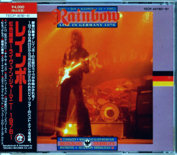 Rainbow - Live In Germany (1976) Japan Press 1991