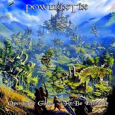 PowerixTix - Gates Of Eternity (2011) Single