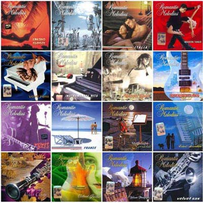 Romantic Melodies - Collection (16CD) (2004-2008)